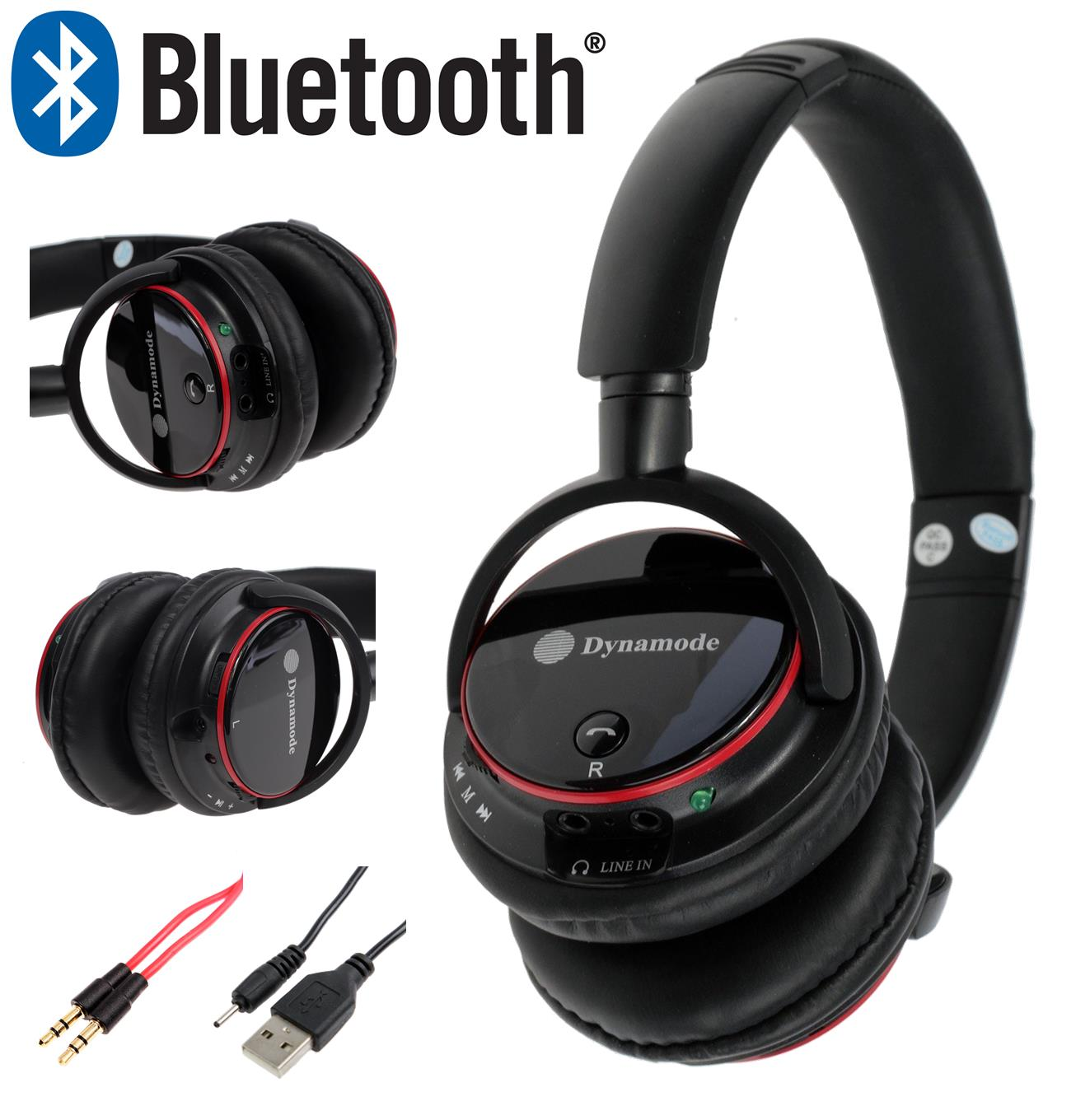 dynamode dh 101ltx bluetooth stereo headset for android. Black Bedroom Furniture Sets. Home Design Ideas