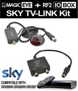 SKY IO-LINK BOX RF MODULATOR TV OUTPUT + MAGIC EYE TV-LINK