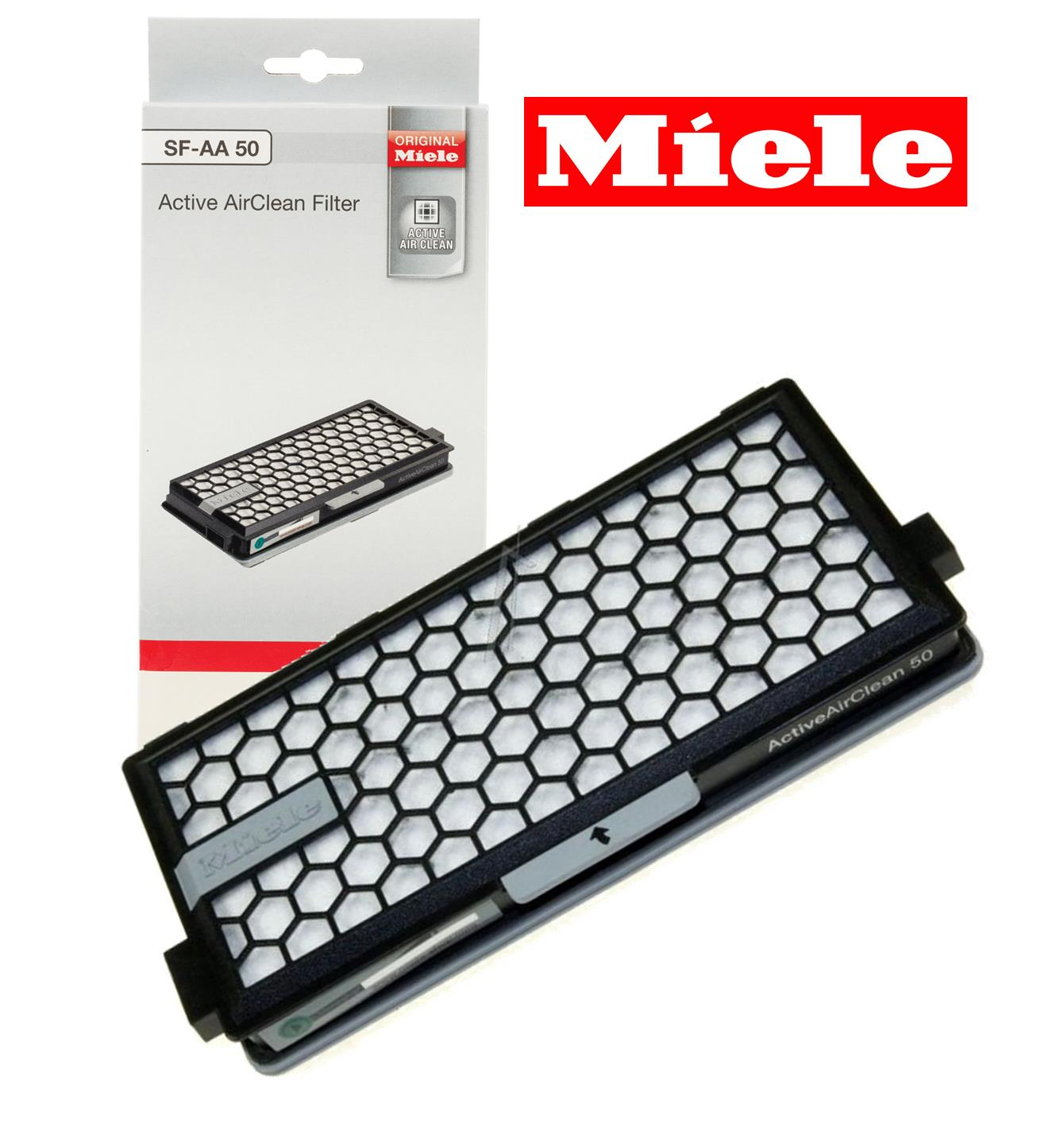 Miele genuine branded sf aac 50 active air clean filter for Miele s5000