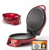 Gourmet Gadgets Retro 1950's Style Diner Pizza Oven & Multi-Grill