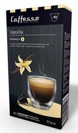 10 x Caffesso Nespresso Compatible Coffee Capsules / Pods - VANILLA  Blend
