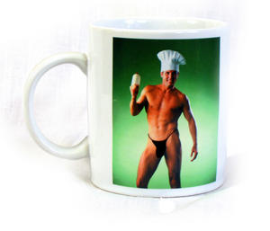 Chef Strip Mug - Heat Change Striptease (Goes Fully Nude!) Preview