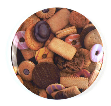 Biscuits - 28cm Large Melamine Plate