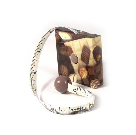 Chocolate Frenzy Tape Measure