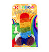 Rainbow Knitted Willy Warmer Funny Rude Gift