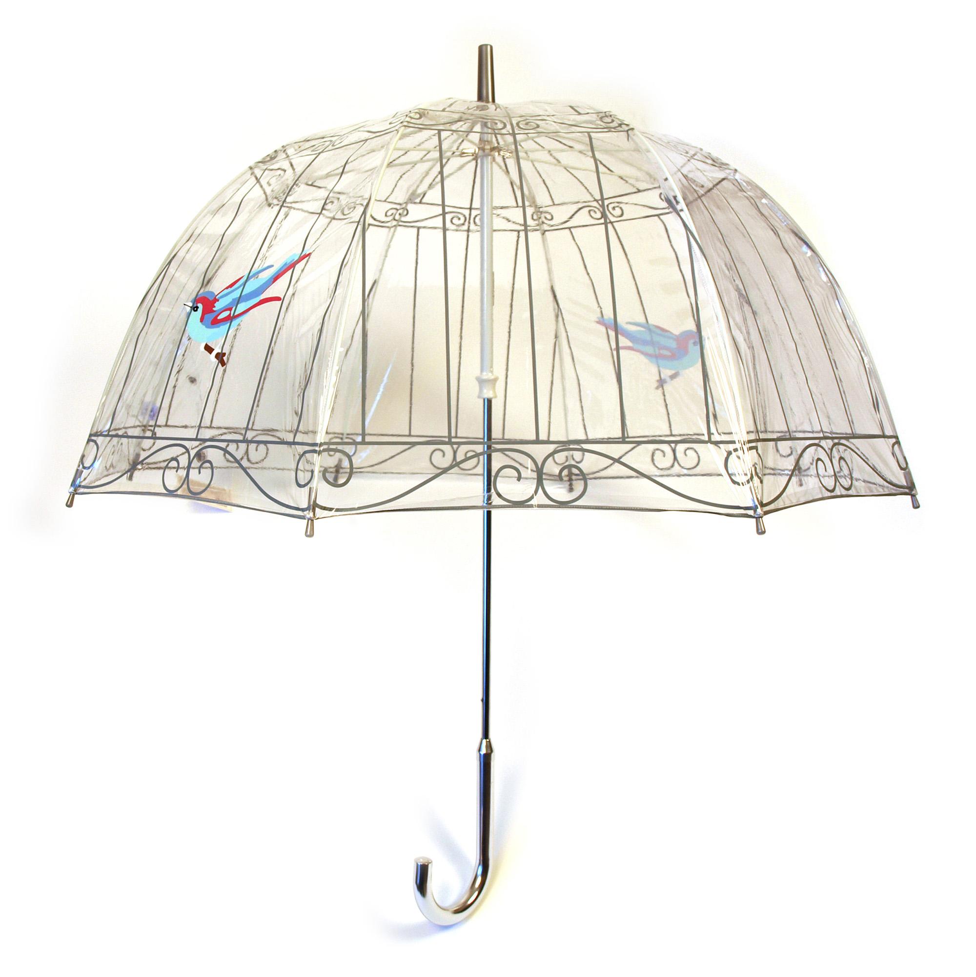Compact House Design Fulton Lulu Guinness Birdcage Umbrella Birdcage Pink Cat