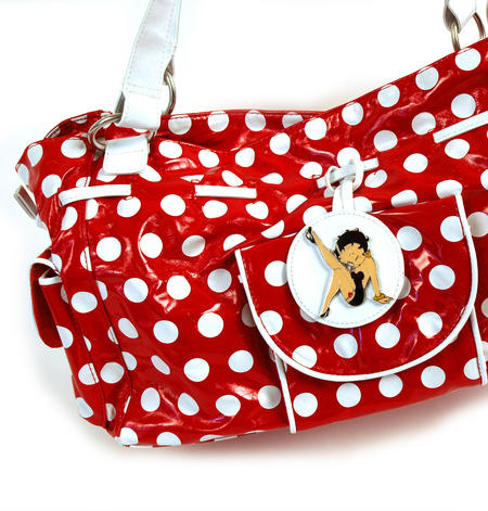 Betty Boop Bucket Bag