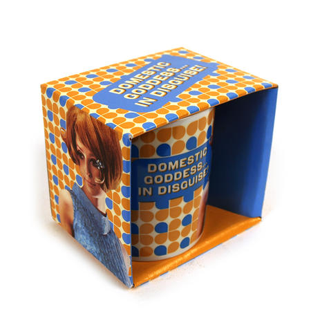 Domestic Goddess...In Disguise Boxed Mug