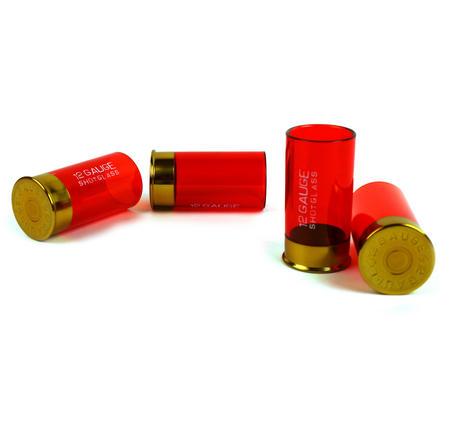 12 Gauge Pump Action Shot Glasses