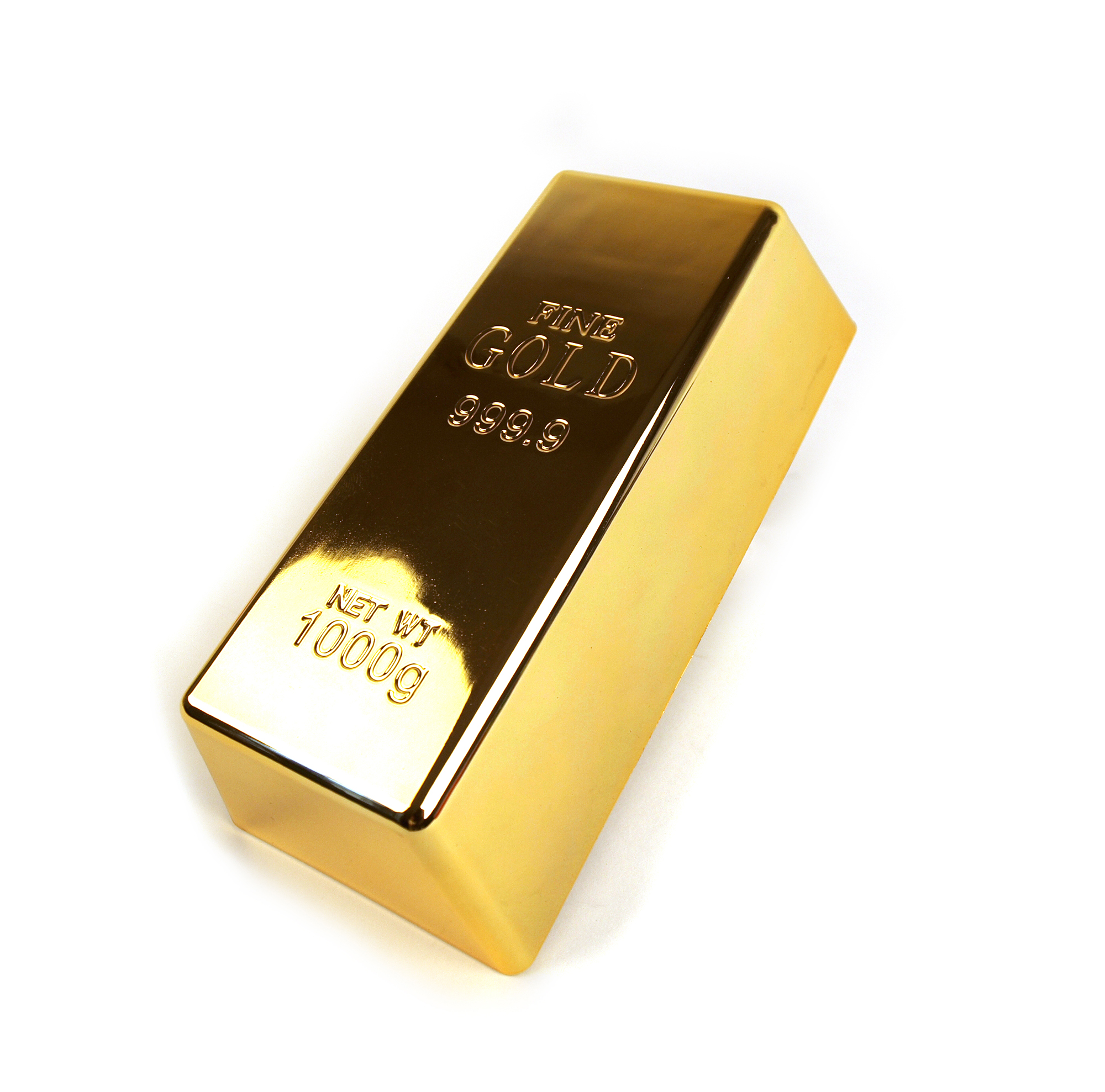 GOLD BAR Paperweight or Doorstop 1kg BULLION BAR