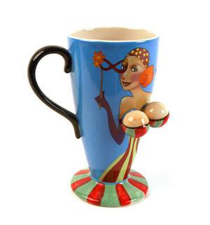Beautiful Boobs Babe 3D Mug Gypsy Girl Thumbnail 1
