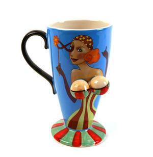 Beautiful Boobs Babe 3D Mug Gypsy Girl Thumbnail 2