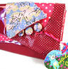 View Item Flick flack clutch - fuschia blossom Irregular Choice