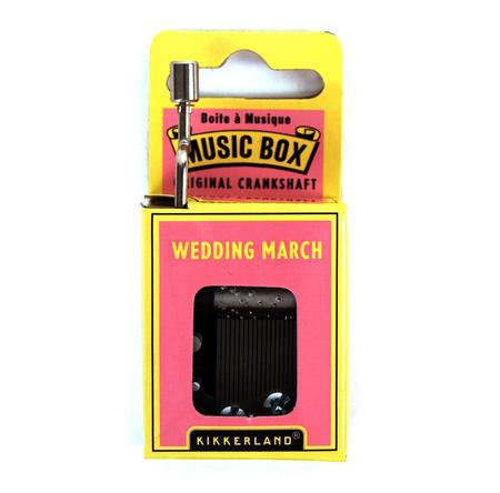 Wedding March Music Box
