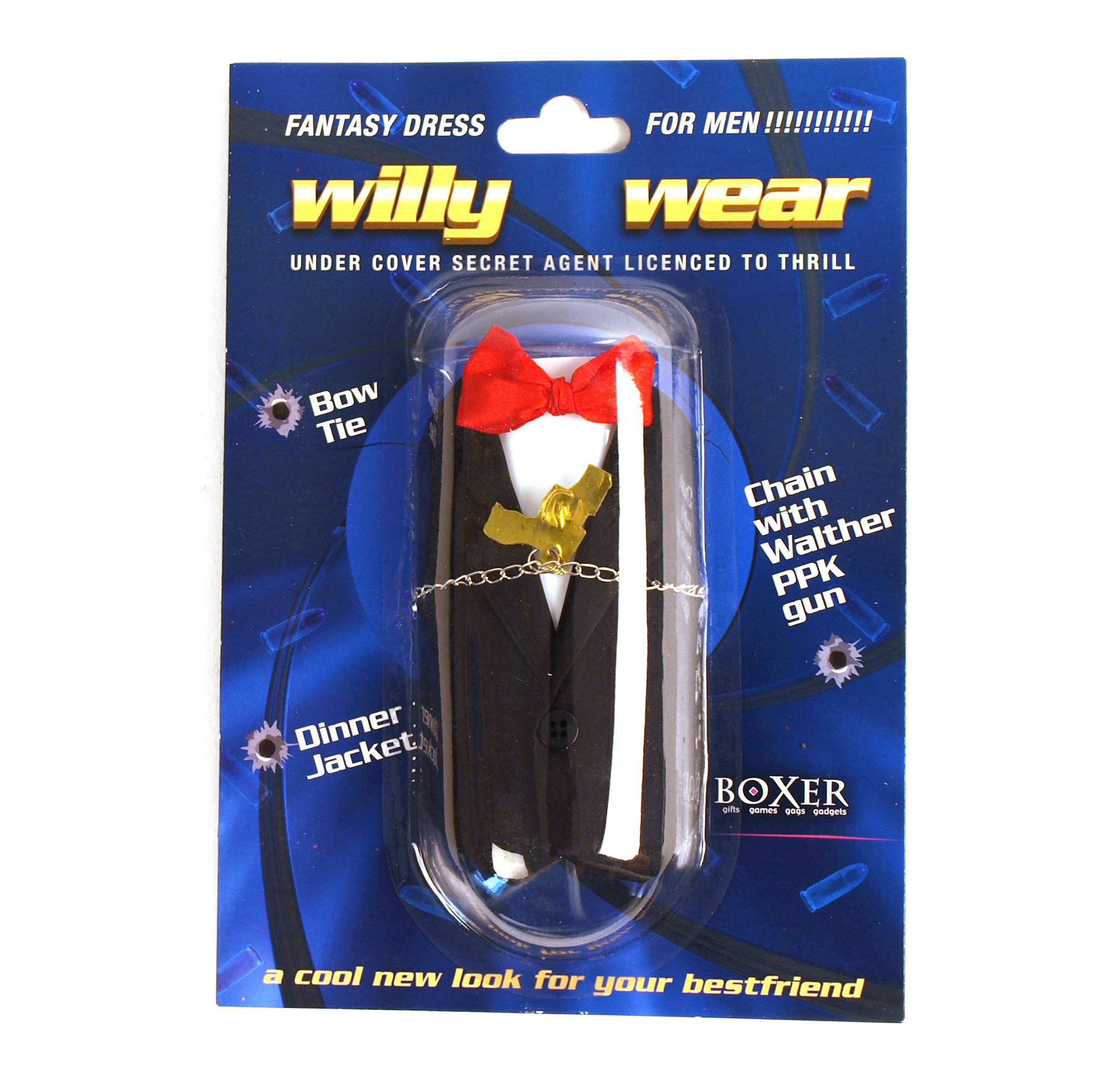 Willy wear - James Bond spy outfit for your chap!