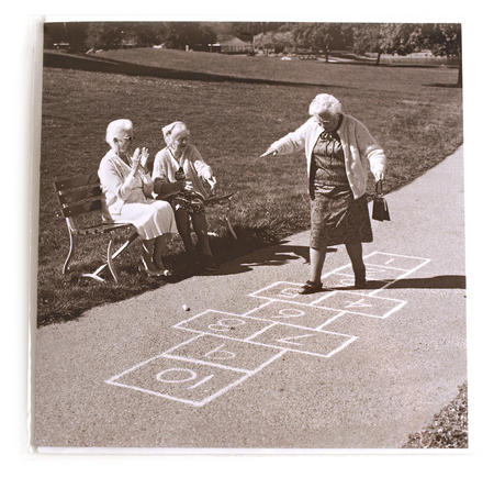 Greetings Card - Hopscotch