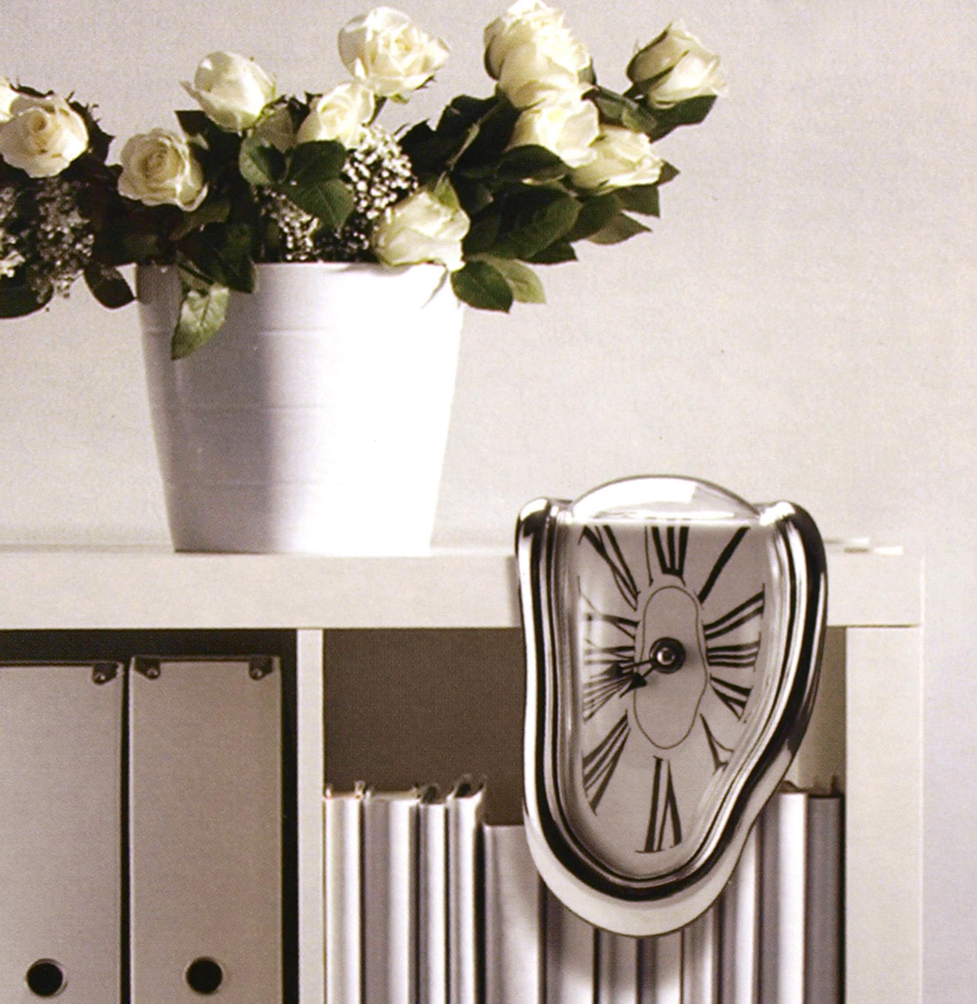 dali fondant horloge surr aliste psych d lique d coration ebay. Black Bedroom Furniture Sets. Home Design Ideas