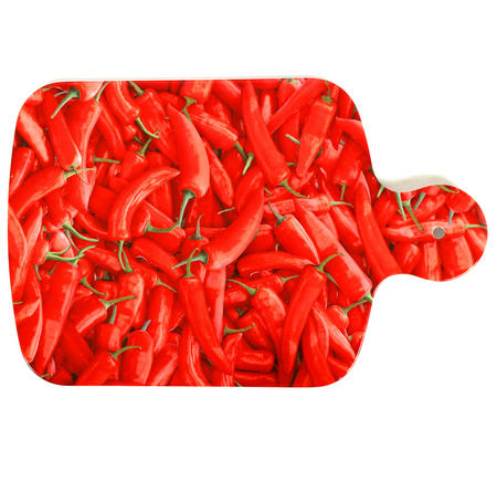 Red Hot Chillies - 34cm Melamine Chopping Board