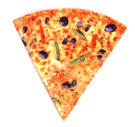 Pizza Slice Triangular 22cm Side Plate