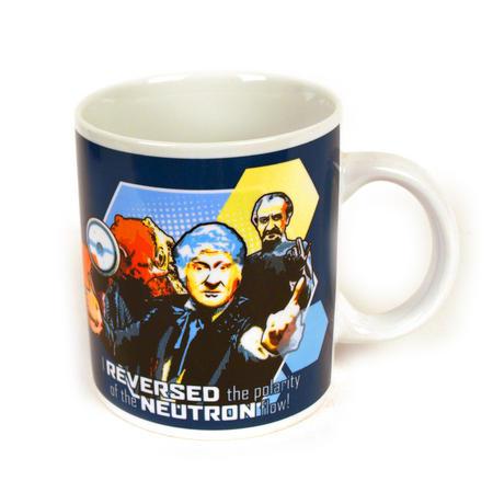 Dr. Who Jon Pertwee Mug