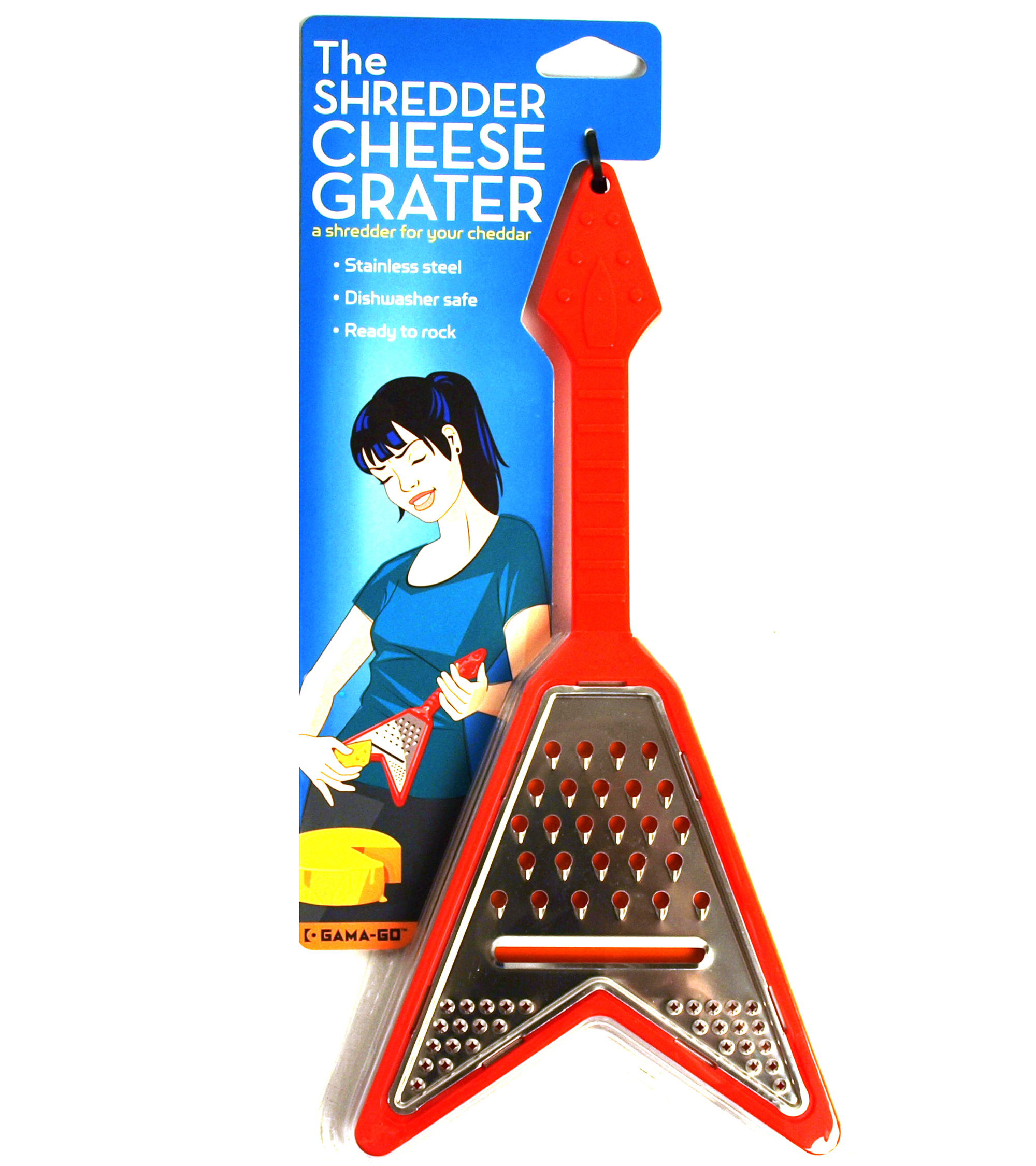 Electric Guitar Cheese Grater | Pink Cat Shop