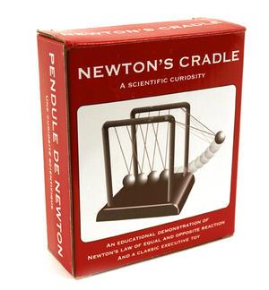 Classic Mini Newton's Cradle Thumbnail 1