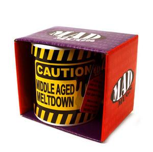 Caution Middle Age Meltdown Mad Mug Thumbnail 2