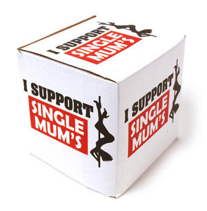 I Support Single Mums - Poledancer Mug Thumbnail 2