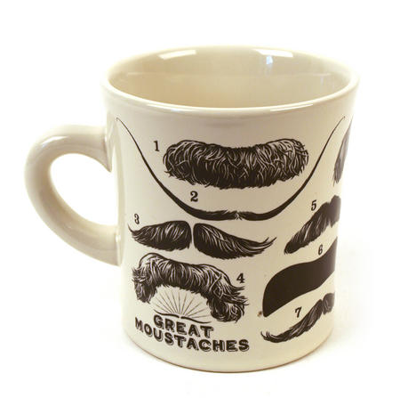 Great Mustaches Mug