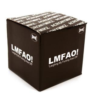 Lmfao 'Laugh My Fucking Arse Off' Mug Thumbnail 2