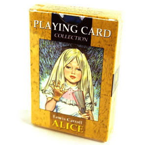 Alice in Wonderland Playing Cards - Original Artwork Preview