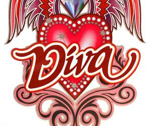 Laptop Notebook Tattoo Sticker - Diva Winged Heart Thumbnail 2