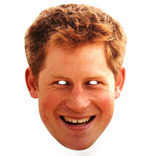 Prince Harry - Party Mask