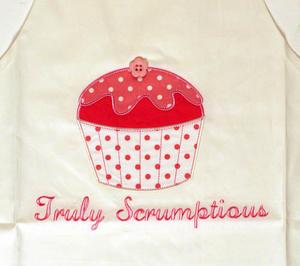 Truly Scrumptous Cupcake Apron - Child Thumbnail 2