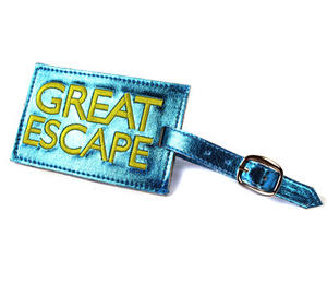 Great Escape Luggage Tag Preview