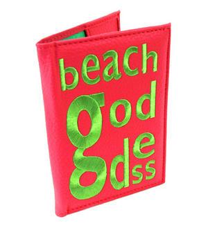 Beach Goddess Passport Holder