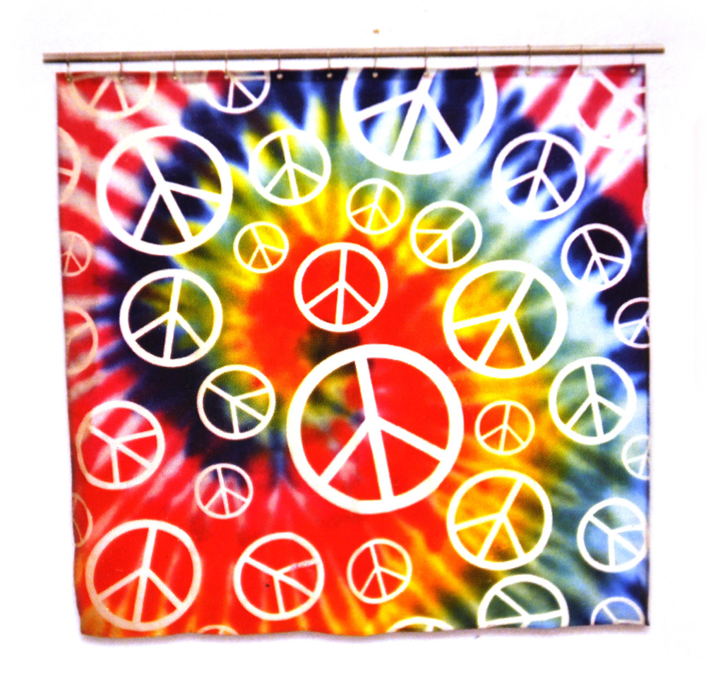 Charmant Peace Baby Psyche Out Shower Curtain | EBay
