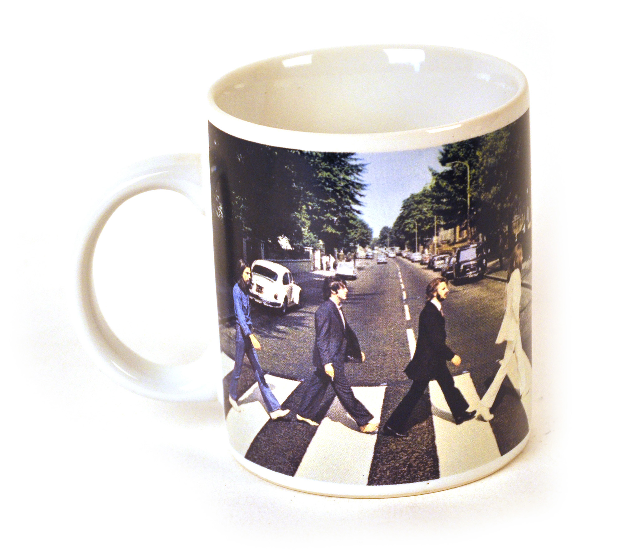 mug tasse the beatles abbey road lennon mccartney ebay. Black Bedroom Furniture Sets. Home Design Ideas