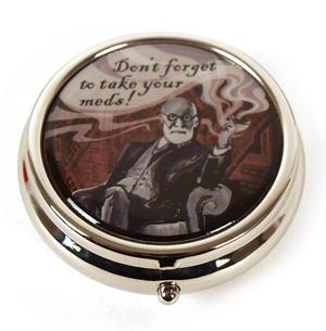 Sigmund Freud Pill Box Thumbnail 2