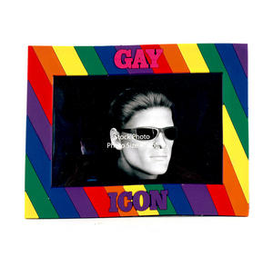 Gay Icon Rubber Picture Frame Thumbnail 2