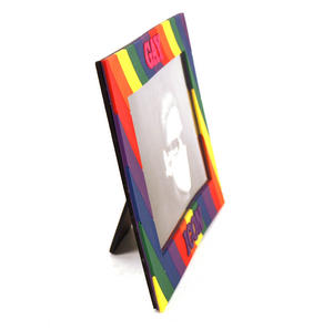 Gay Icon Rubber Picture Frame Thumbnail 3