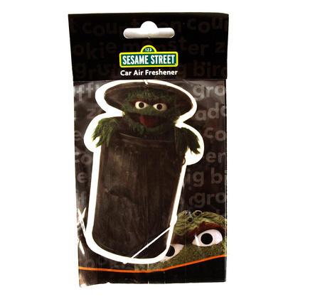 Oscar The Grouch Sesame Street Air Freshener
