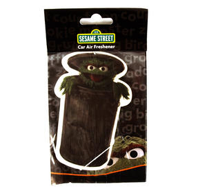 Oscar The Grouch Sesame Street Air Freshener Thumbnail 1