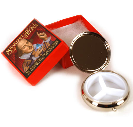 William Shakespeare Pill Box