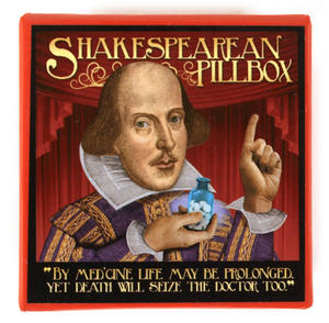 William Shakespeare Pill Box Thumbnail 3