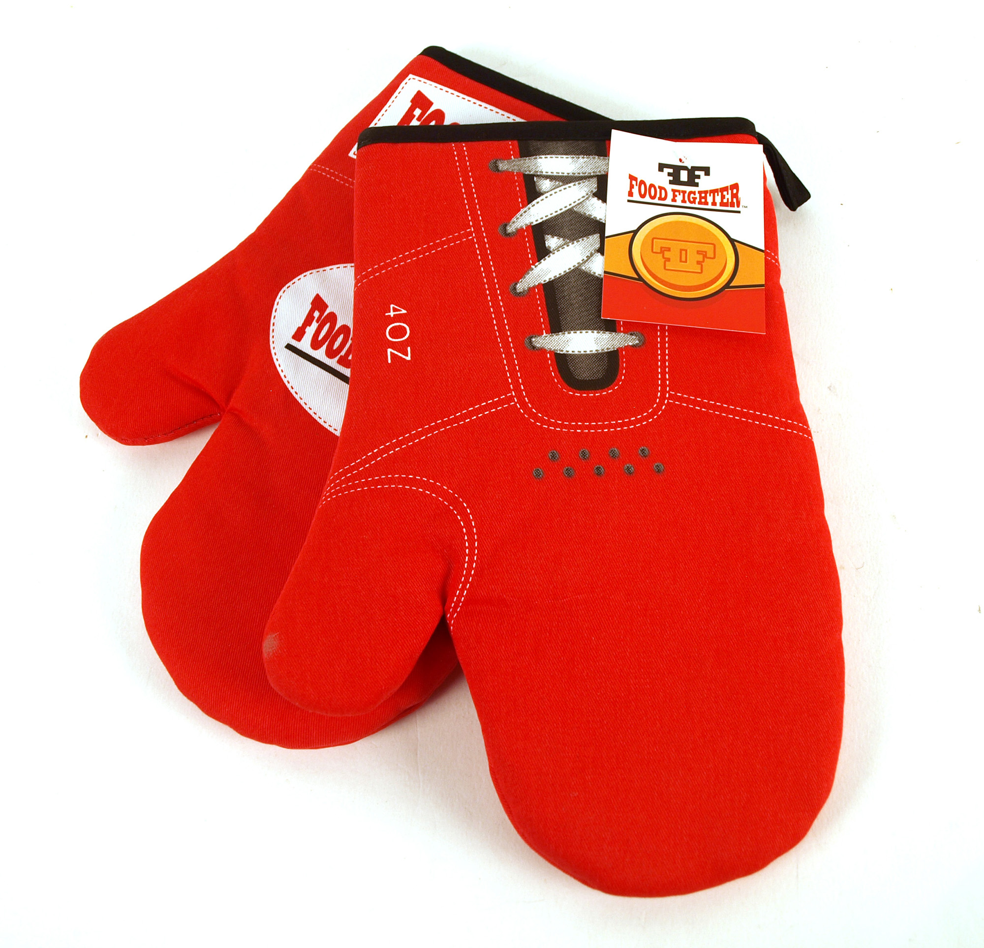 Boxing Oven Gloves The Food Fighter Pink Cat Shop