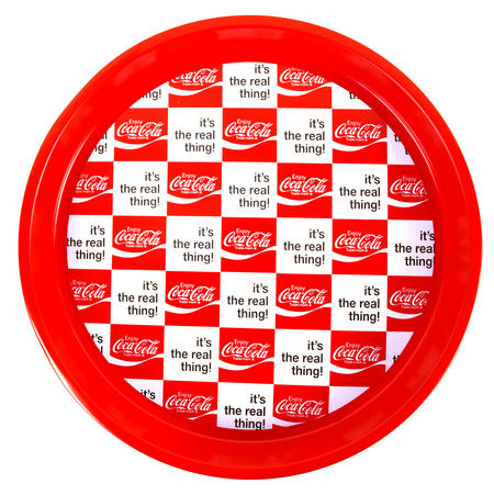 Coca Cola Retro Tray - 'Coke It's The Real Thing'