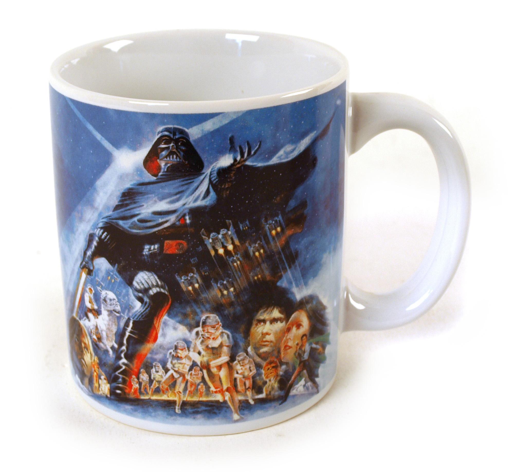star wars empire strikes back mug pink cat shop. Black Bedroom Furniture Sets. Home Design Ideas