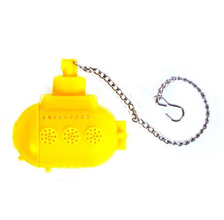 Tea Sub  Infuser / Tea Egg - Yellow Submarine