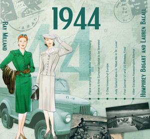 1944 The Classic Years 20 Track Cd Greetings Card